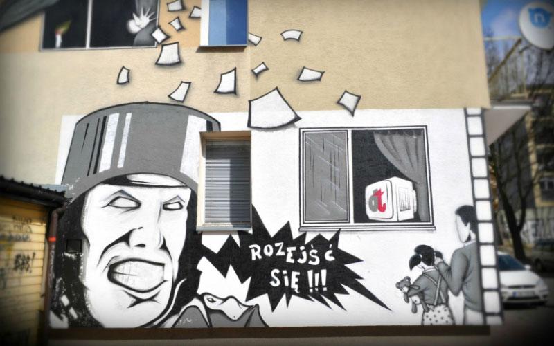 Mural Świdnickie Spacery