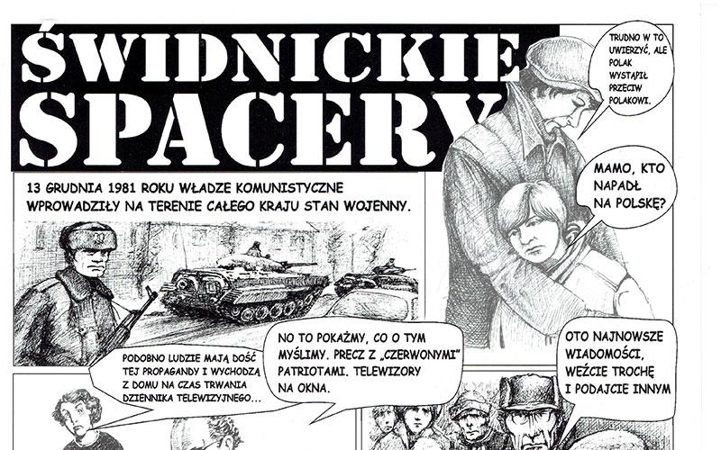 Komiks Świdnickie Spacery